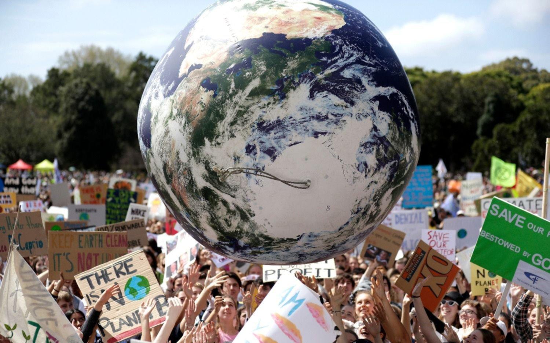 """El mundo está de paro: Australia dio el puntapié inicial en la """"huelga climática global"""""""