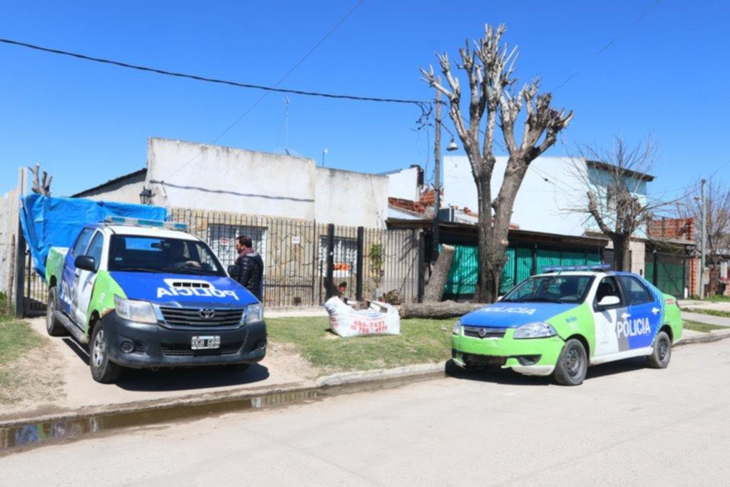 Tres hermanitos murieron en una casa de Berisso y sus padres están graves