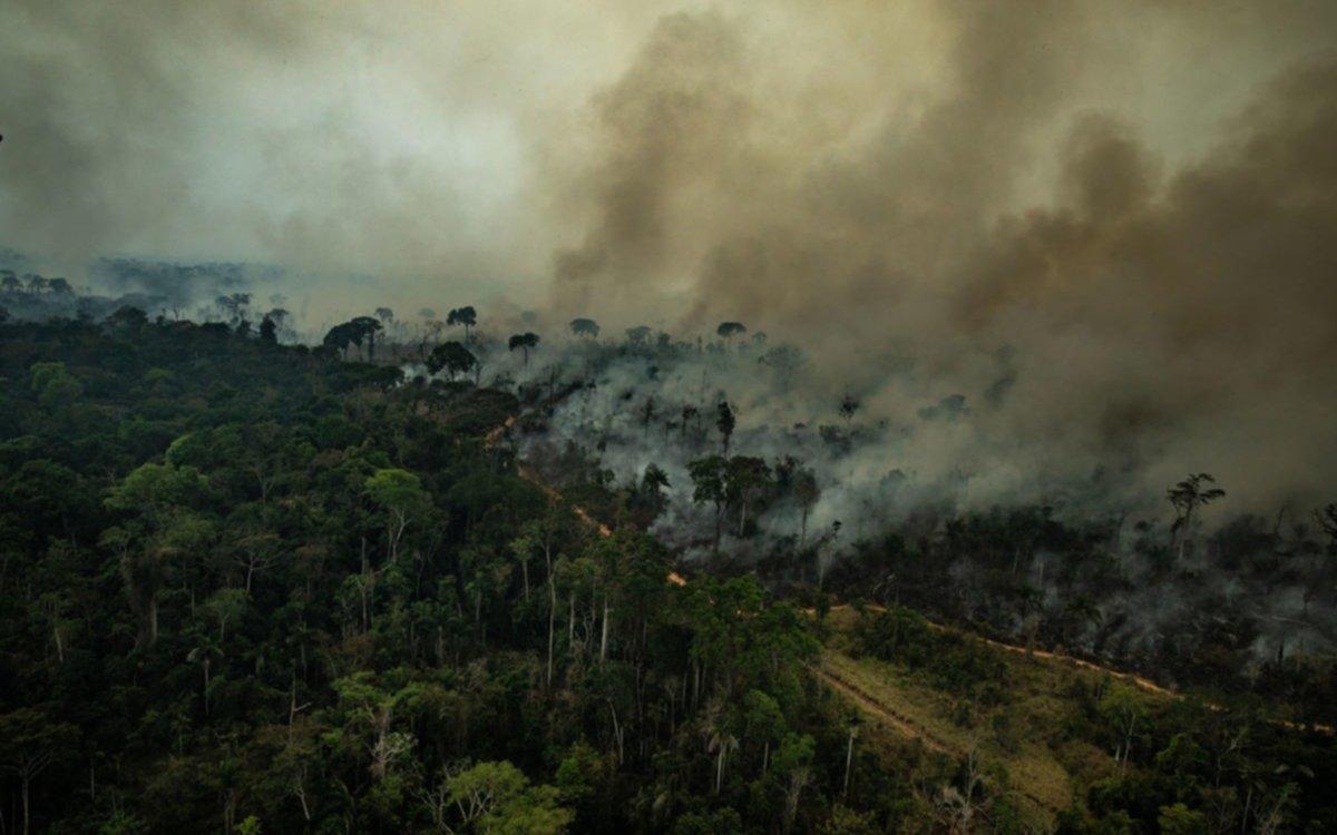 El Amazonassigue ardiendo antes de la reunión de la ONU