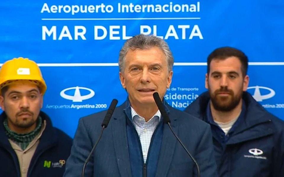 """Macri: """"Sé que a muchos les sigue costando en su bolsillo y en la mesa de todos los días"""""""