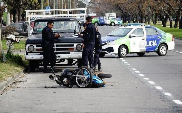 El 43,8 por ciento de los muertos en siniestros viales son motociclistas