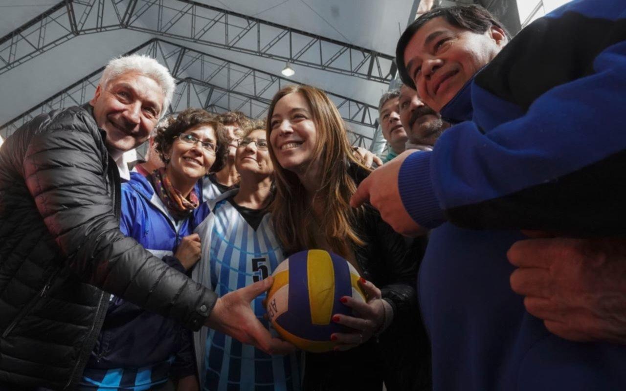 Vidal sigue con la recorrida por el interior y estuvo en Carmen de Patagones