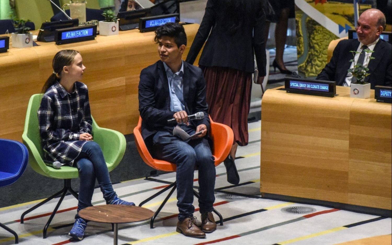 """Cumbre de la Juventud sobre el Clima: """"Millones de personas demandan un cambio"""""""