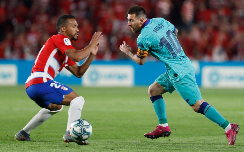 Volvió Messi, pero Barcelona perdió con Granada y sigue sin levantar cabeza