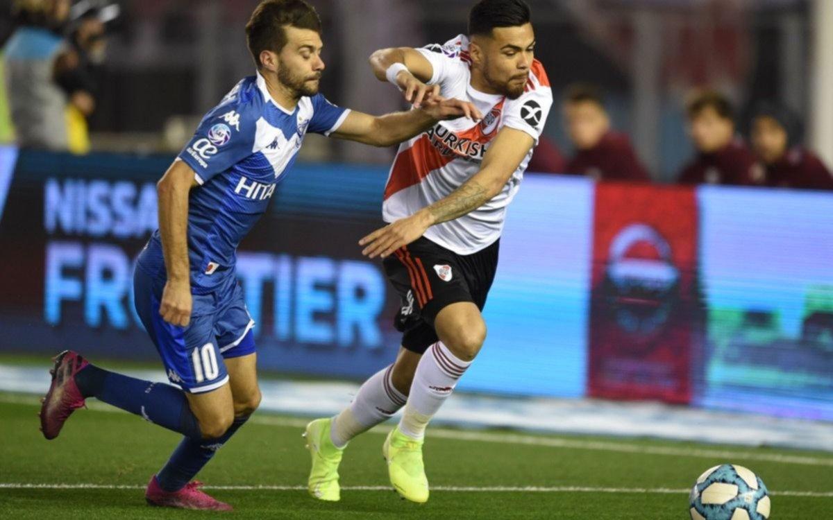 River perdió 2 a 1 ante Vélez en el Monumental por la Superliga