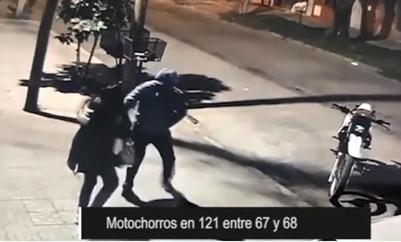 En el casco urbano, crece la inquietud por recurrentes asaltos de motochorros