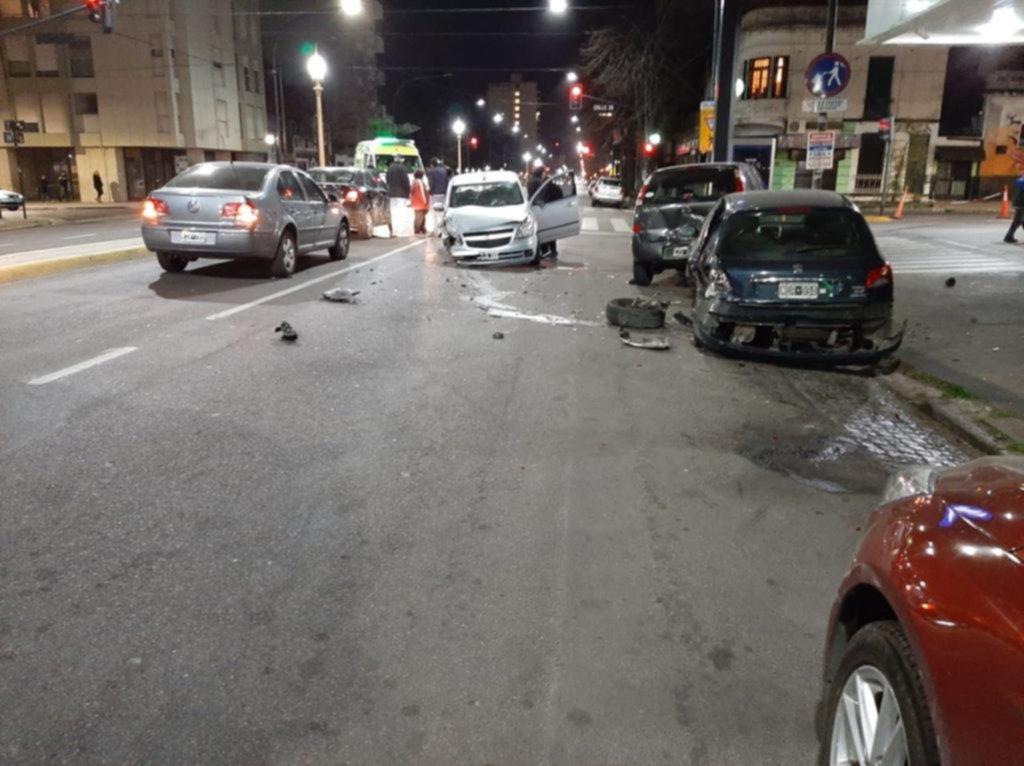 Peligro, fin de semana: 4 choques en 12 horas