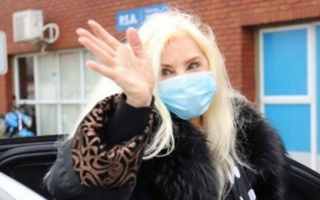 Susana, al quirófano por el accidente  doméstico que sufrió en Uruguay