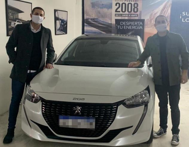 El Nuevo Peugeot 208 rodó por primera vez en La Plata