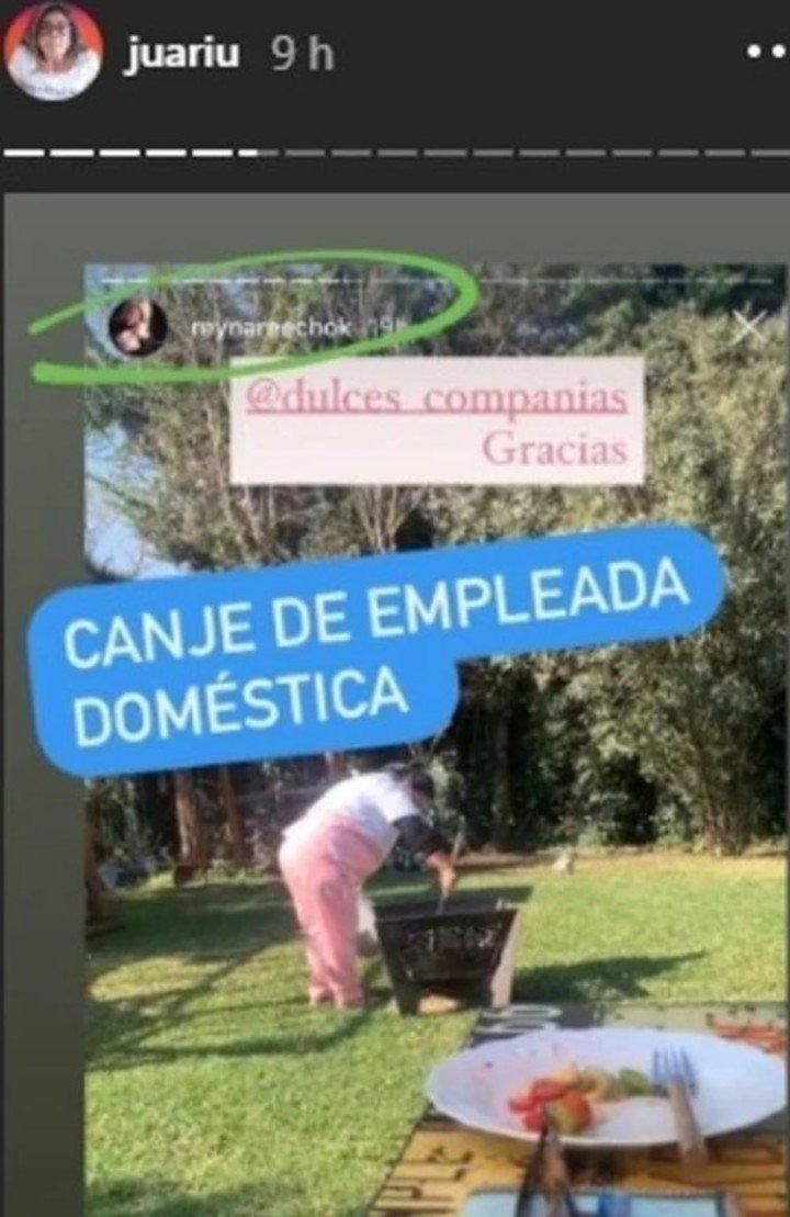 Reina Reech promocionó un canje de empleadas domésticas y la destruyeron en redes