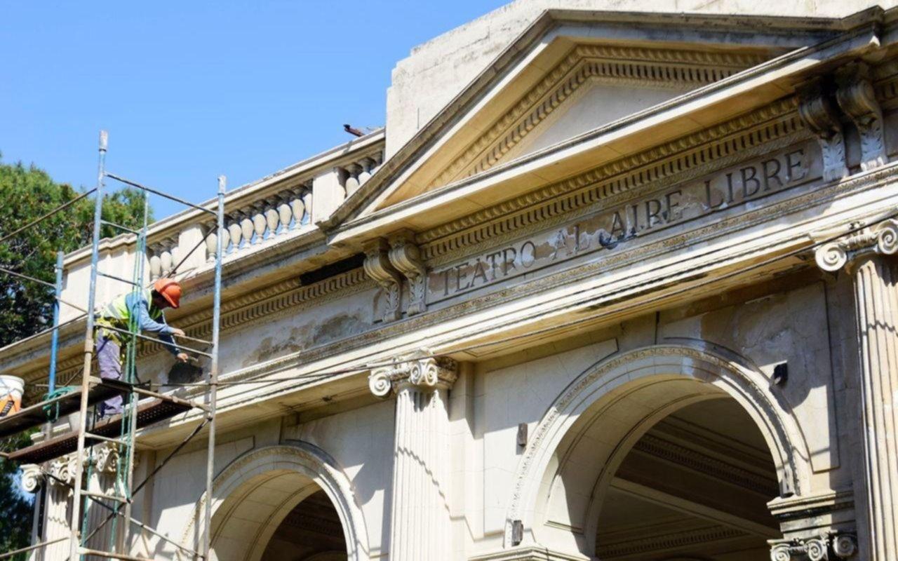 Avanza la restauración del Teatro del Lago a 8 años de la última función