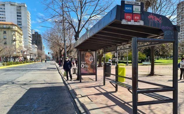 Transporte: se sintió la primera jornada del paro de micros en La Plata