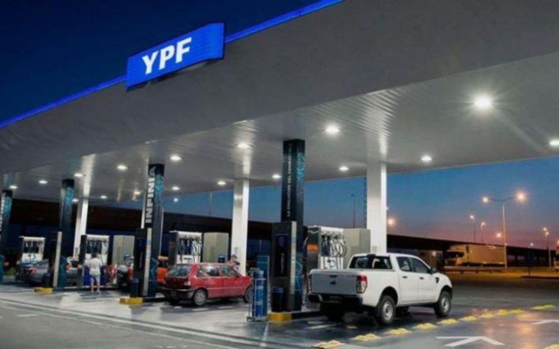 YPF aumentó sus naftas un 3,5% promedio