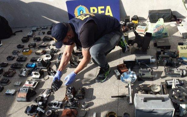 Recuperan 126 piezas de colección robadas de un museo de Quilmes