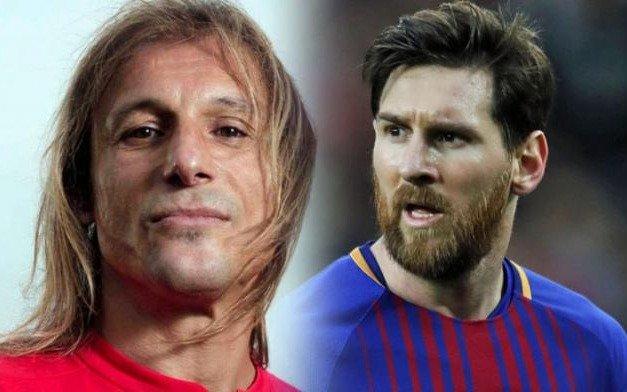 """Caniggia duro con Messi y su entorno: """"A los abogados se les escapó la tortuga"""""""