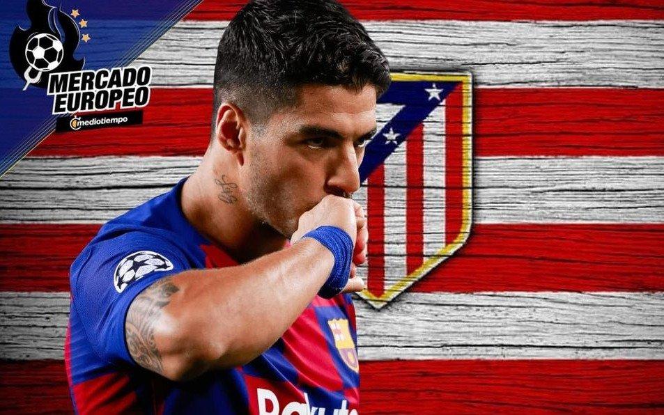 En el Barcelona cayó mal que Suarez negocie con el Atlético Madrid y hay bronca