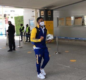 Boca se instaló en Medellín sin Russo y con dos dudas en el equipo que jugará ante el DIM