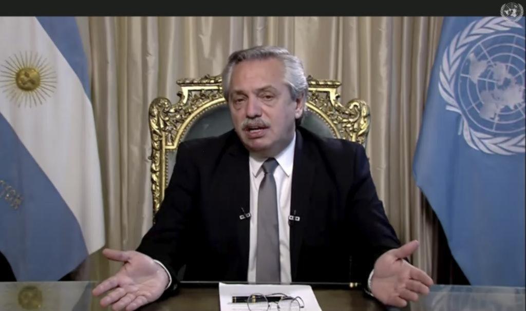 """Alberto Fernández defendió el cepo cambiario y en la ONU habló de la deuda """"tóxica"""""""