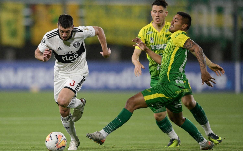 Copa Libertadores: Defensa le ganó 2-1 a Olimpia y quedó segundo en el Grupo B
