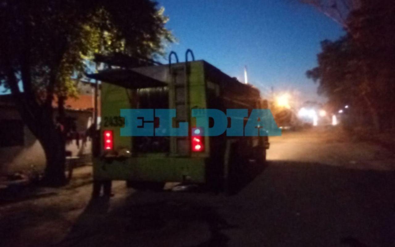 Tensión en un sector de San Carlos por el incendio de una vivienda