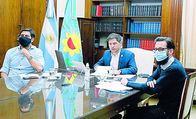 Kicillof lanzó un plan de obras y disparó críticas a sectores opositores