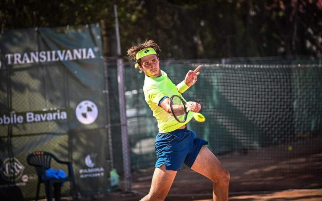 Tomás Etcheverry avanzó a semifinales del Challenger de Sibiu