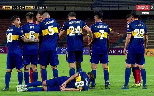 Con gol de Salvio, Boca le ganó a Independiente Medellín y quedó a un punto de la clasificación