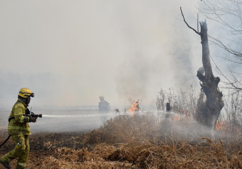 El fuego no da tregua y cuatro provincias siguen con focos fuera de control