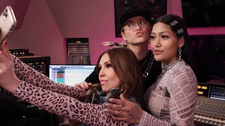 """""""Latin Music Queens"""": la serie de Thalía, un """"ejemplo de sororidad"""", de Facebook para el mundo"""