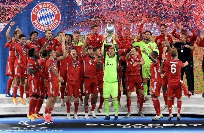 Bayern Münich se adjudicó la Supercopa de Europa y pulverizó todos los récords