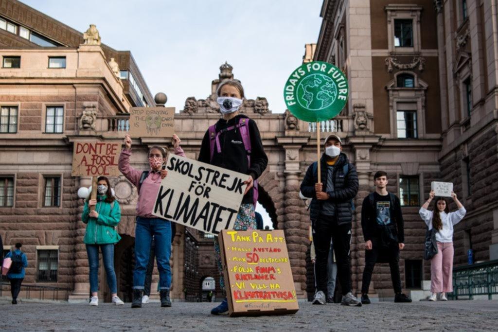 La crisis climática otra vez convocó a jóvenes en todo el mundo