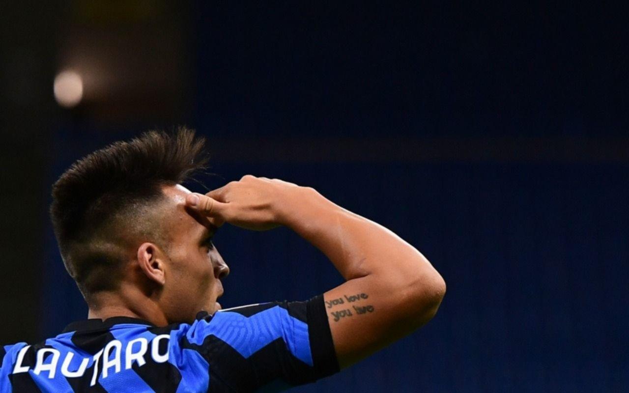 Con gol de Lautaro incluido, Inter ganó un partido increíble sobre el final