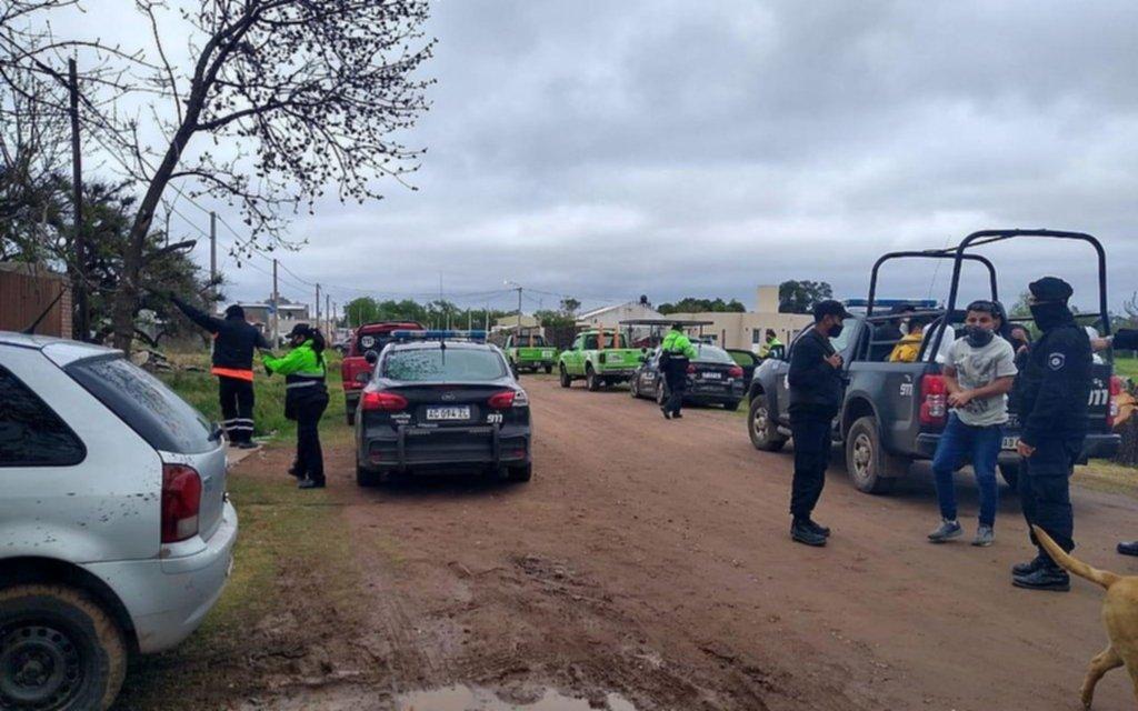 Más de 50 detenidos en una fiesta clandestina en una maderera
