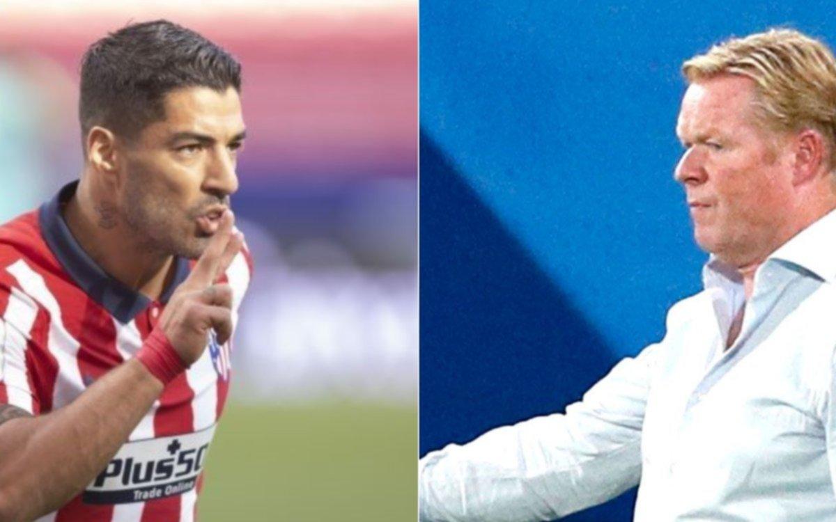 Koeman habló sobre la destacada presentación y los goles de Luis Suárez