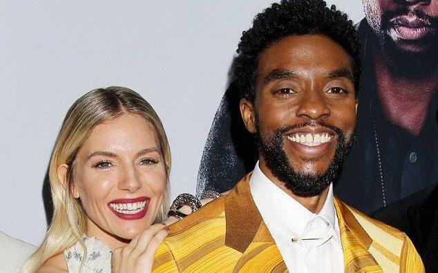"""Sienna Miller confesó que Chadwick Boseman le donó parte de su salario en """"Nueva York sin salida"""""""