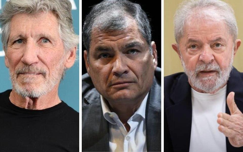 Roger Waters, Correa y Lula encabezarán acto para apoyar a Assange