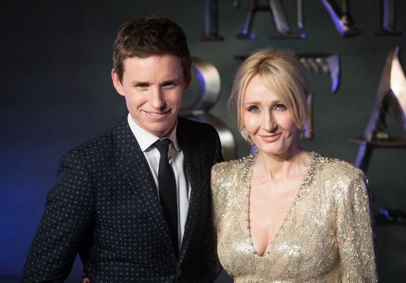 """Repugnante"": Redmayne saltó en defensa de Rowling"