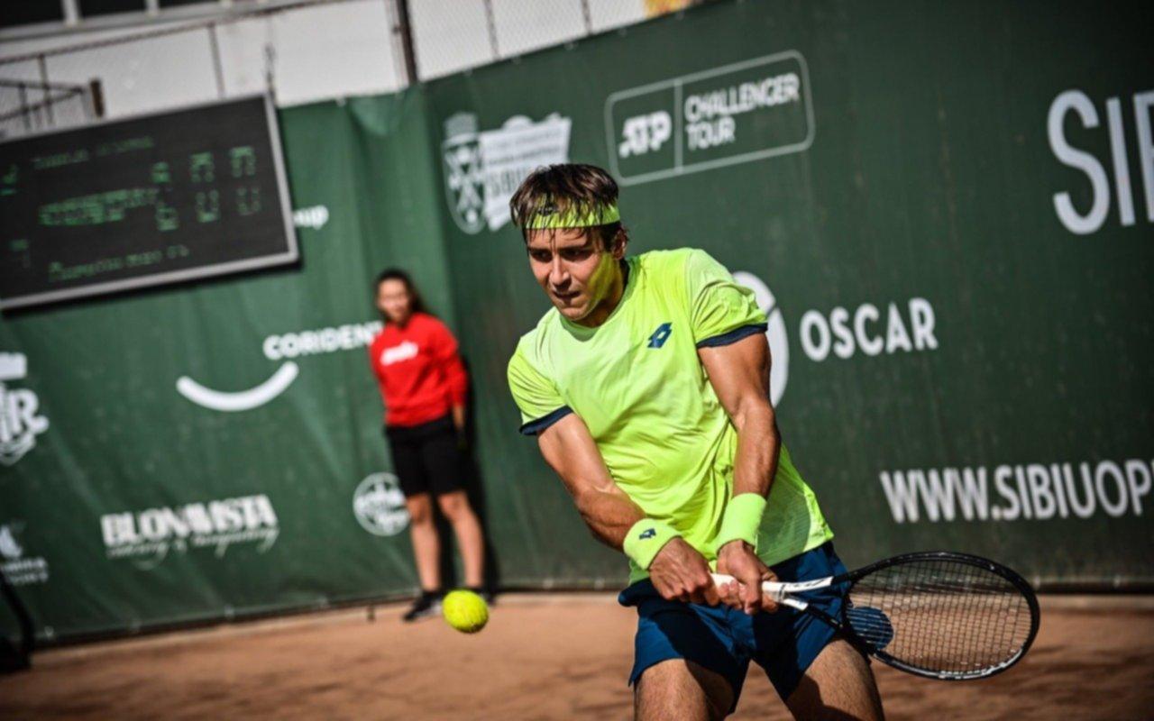 Tenis: El platense Etcheverry dio el golpe al vencer al serbio Toicki, en Croacia