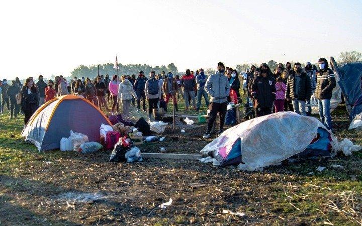 Guernica: menos del 10% de los ocupantes aceptó dejar la toma y la Justicia prepara el desalojo para mañana