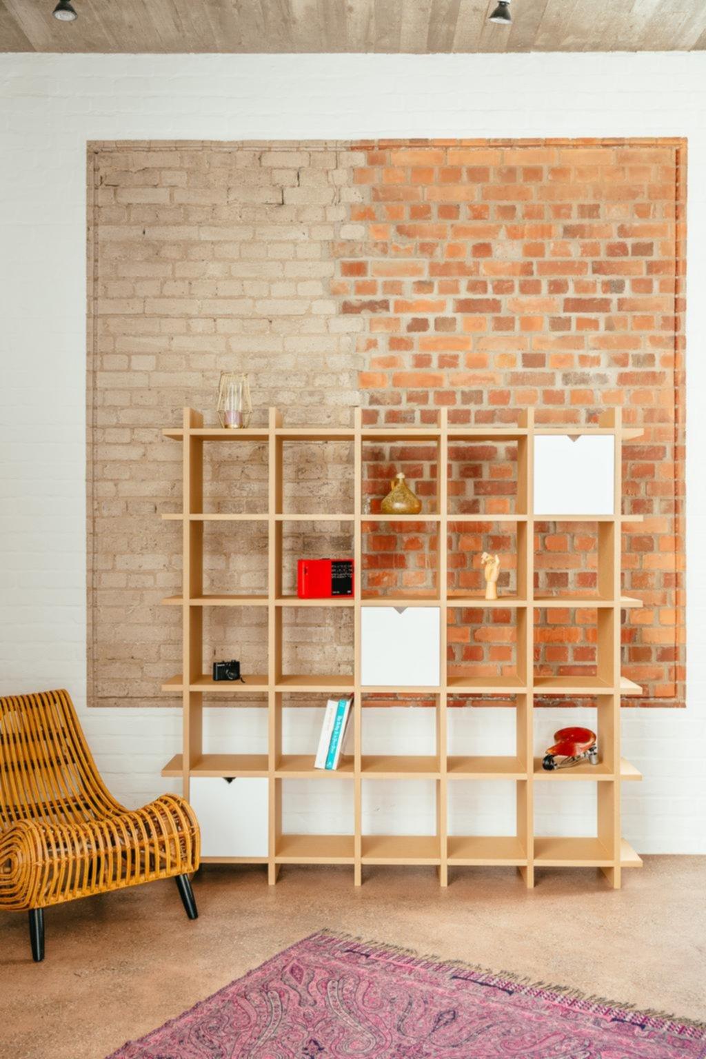 Cartón pintado: los muebles sustentables llegaron para quedarse