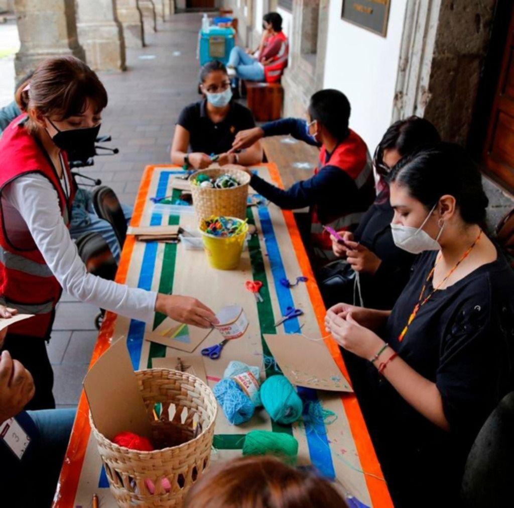 Las artesanías, símbolo de la identidad wixárika en México