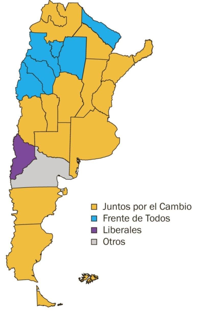 El país se tiñe de amarillo: batacazo de Juntos y dura derrota de Alberto y Cristina