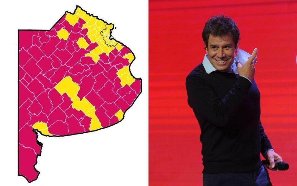 La provincia pintada de rojo: Manes pisó fuerte en el interior bonaerense