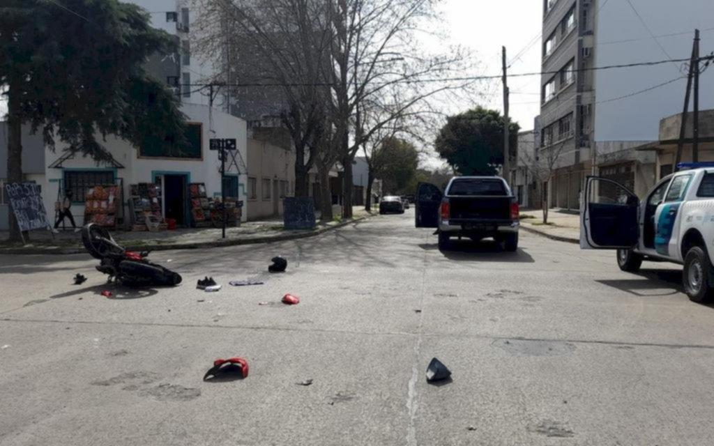 Tras un choque en La Loma, murió un motociclista de 28 años