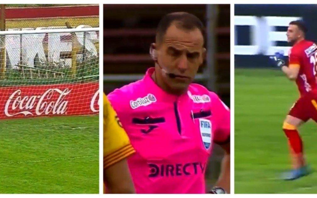 Arbitro que perjudicó a Boca, ahora empezó un partido sin uno de los arqueros