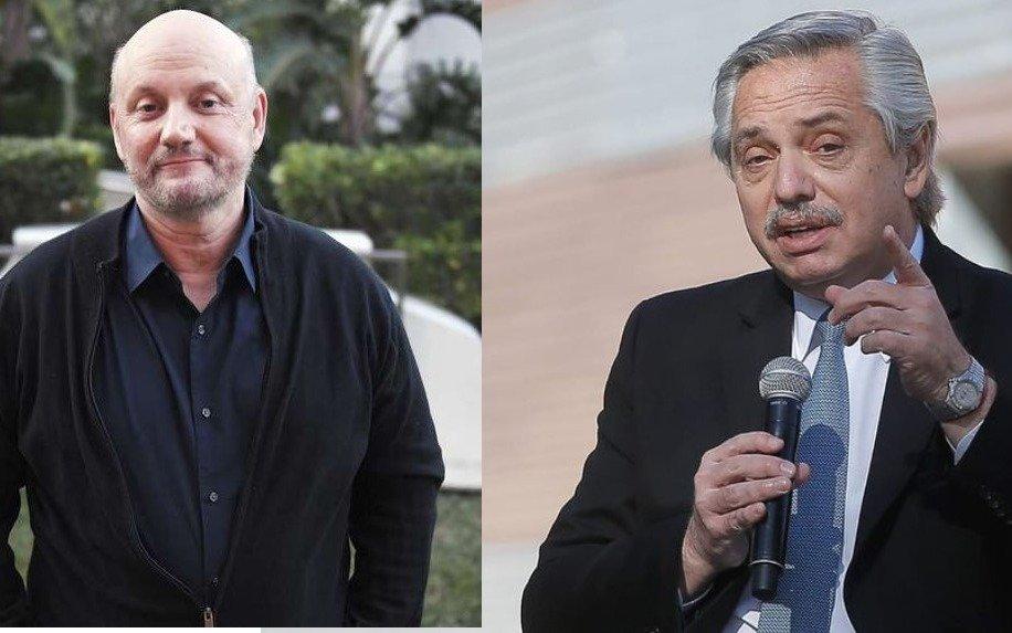"""La dura frase de Juan José Campanella a Alberto Fernández: """"No te queremos a vos"""""""