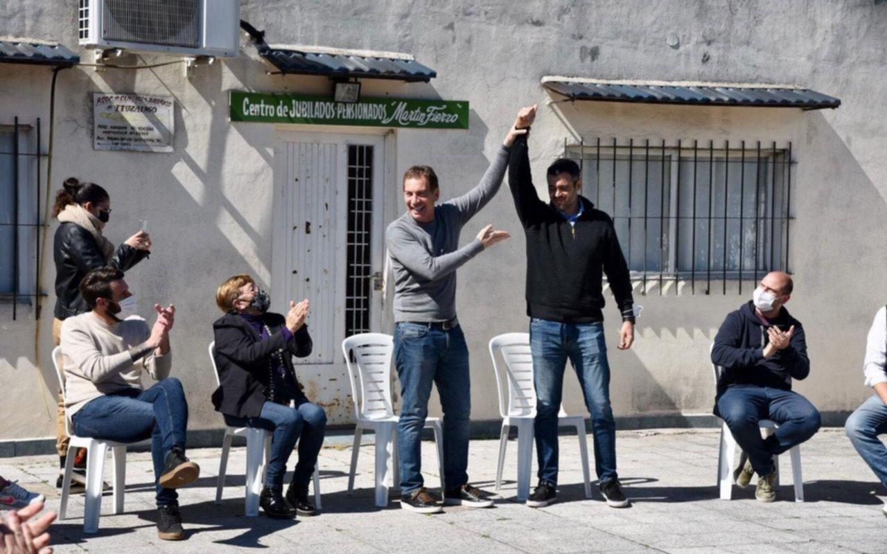 Tras el triunfo, Santilli volvió a Conurbano y estuvo en Ituzaingó