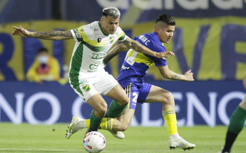 Boca empató sin goles ante Defensa y Justicia en La Bombonera