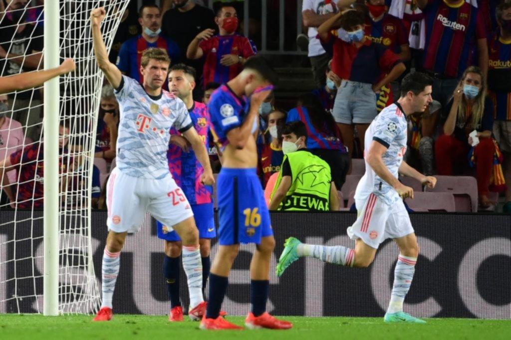 Mientras Messi hace su estreno en PSG, Barcelona dio lástima