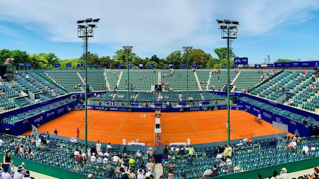 La serie de Copa Davis se jugará con público en el Buenos Aires Lawn Tennis
